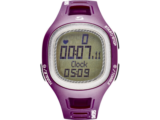 SIGMA SPORT PC 10.11 Heart Rate Monitor, purpur